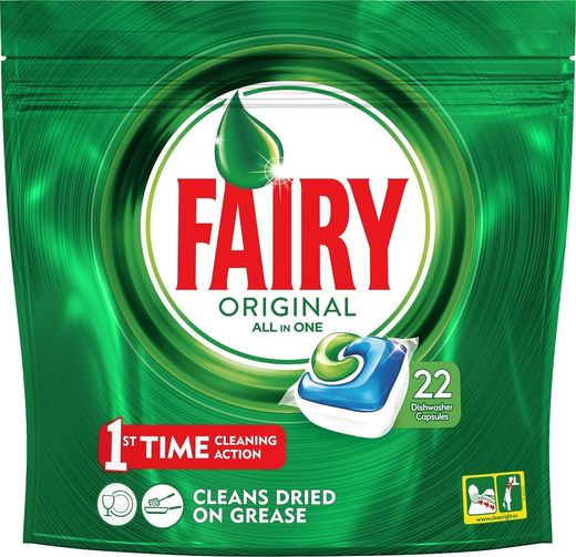 Fairy Original Green 22 kpl