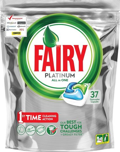 Fairy Platinum Green 37 kpl