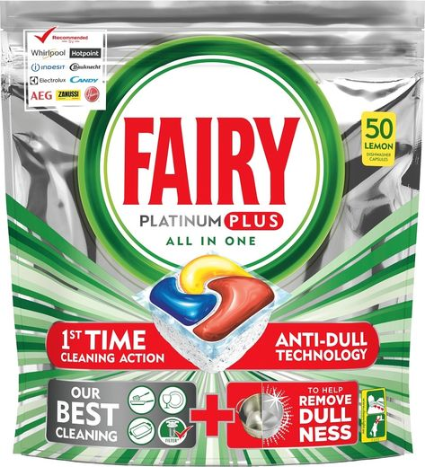 Fairy Platinum Plus 50 kpl