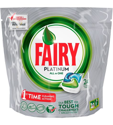 Fairy Platinum Green 24 kpl