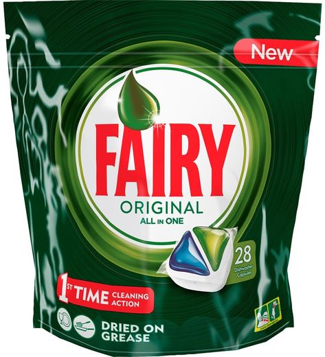 Fairy Original Green 28kpl - KAMPANJA!
